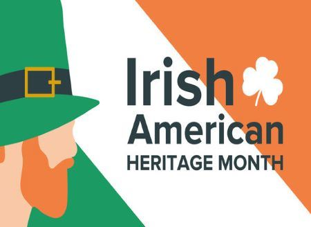 Irish American Heritage Month 450x328